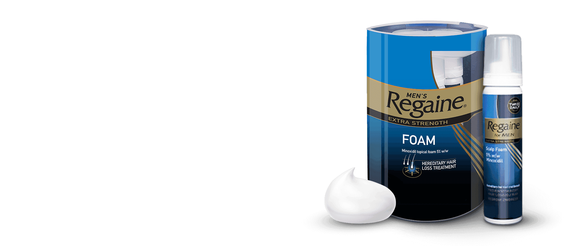 Try the new Regaine Foam